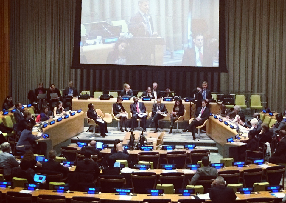 The three day long session in November was held at the Trusteeship Council at the UN Headquarters in New York, photo: Tora Systad Tyssen