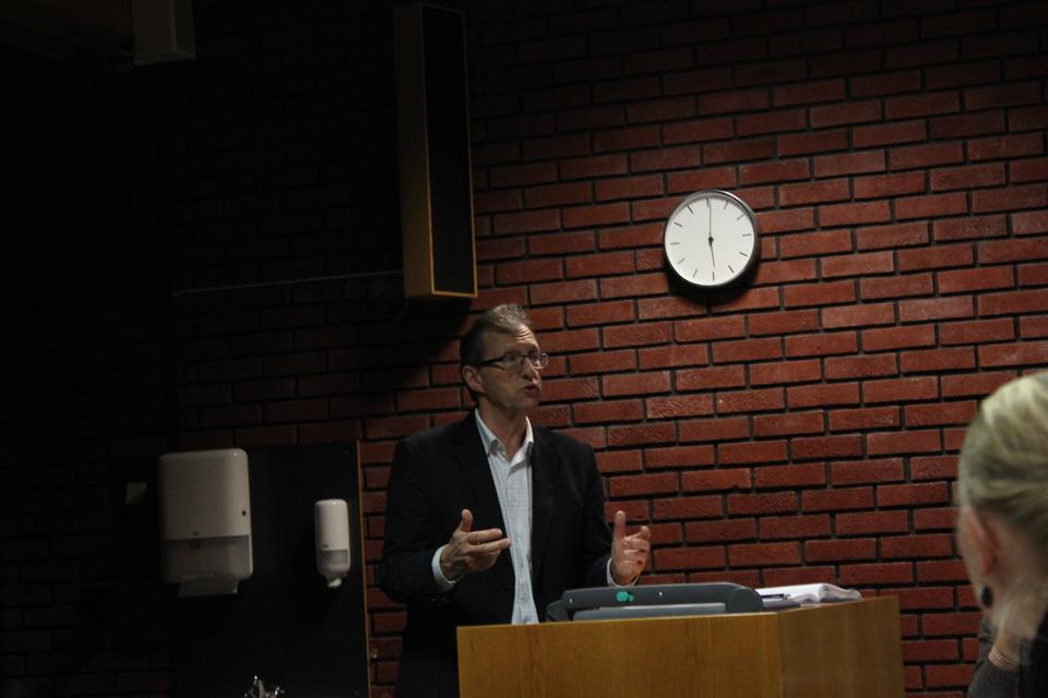 Morten Svelle frå Rein energi-seksjonen i Utanriksdepartetementet, foto: Tora Systad Tyssen