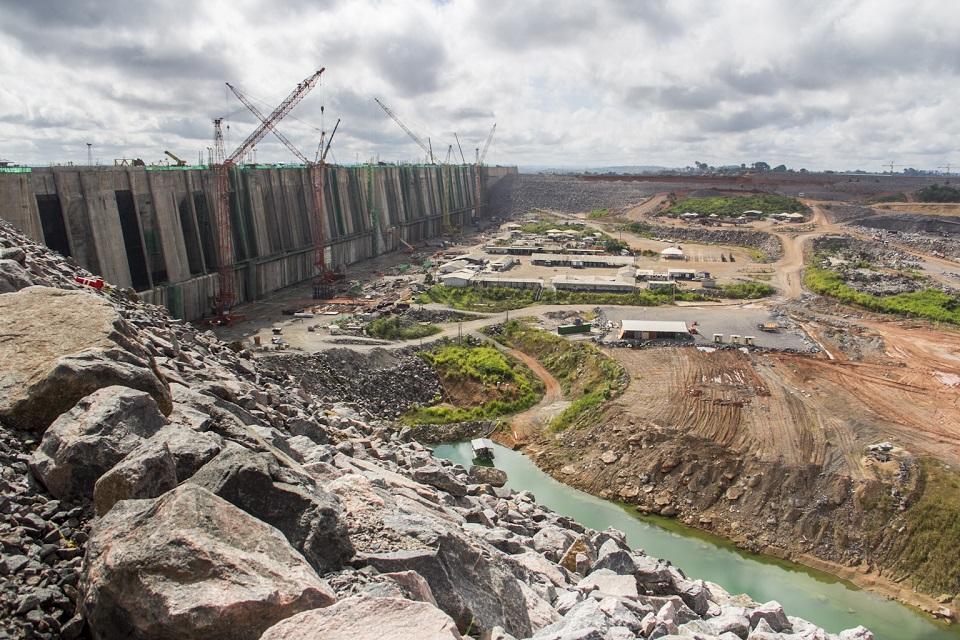 Fra utbyggingen av Belo Monte-dammen, foto: Naiara Pontes