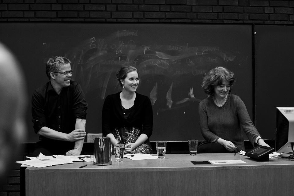 I panelet sat Hans Morten Haugen, Cathy Wilson og Elin Ersdal, foto: Mariann Midbøe
