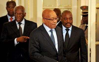 Jacob+Zuma+Kabila
